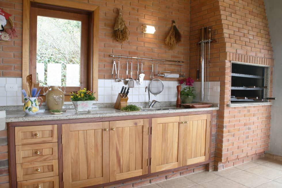 Campos Do Jordao Cozinhas Rusticas Por Liliana Zenaro Interiores