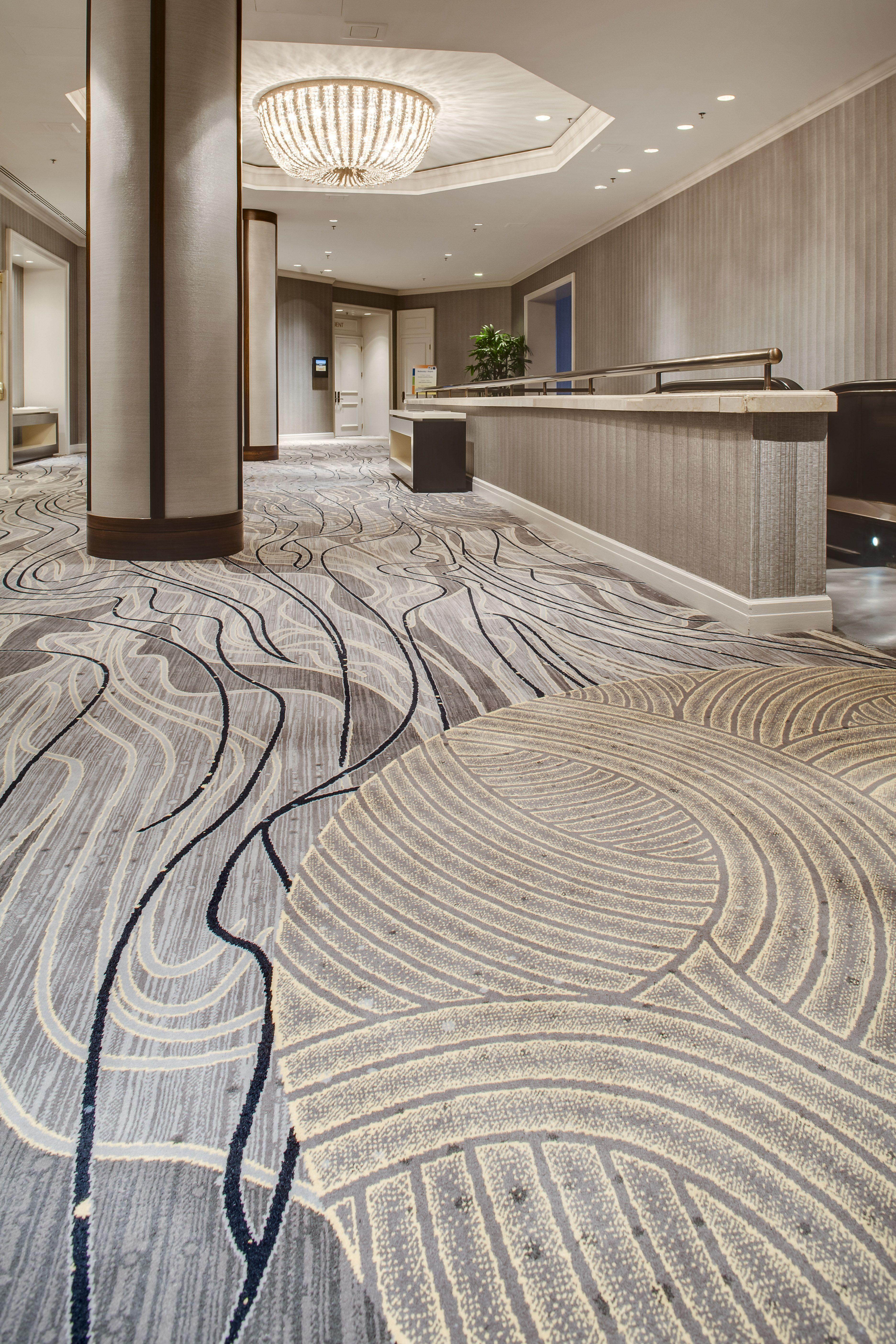 Innovative Carpets Fairmont Chicago Prefunction Organic