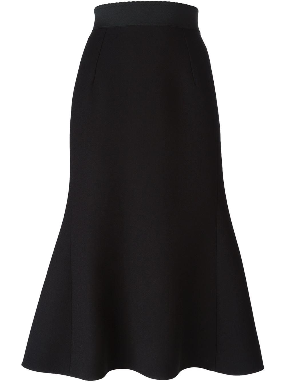 Dolce & Gabbana Ausgestellter Rock - Pompeu Baqueira - Farfetch.com