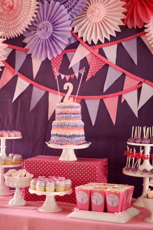 birthday- desert table
