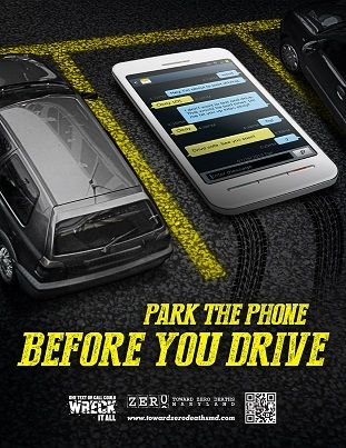 Image result for park the phone before you drive