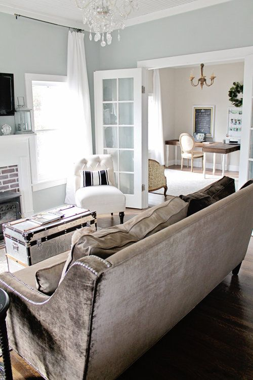 Myrtle House Before After Living Room Interior Design Living Room Living Room Paint