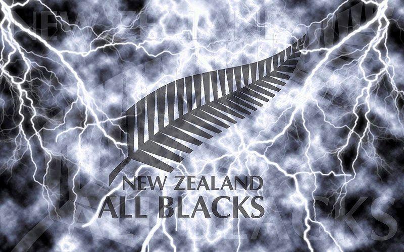 New Zealand All Blacks Lightning Wallpaper By Sunnyboiiii All Blacks New Zealand Black Wallpaper