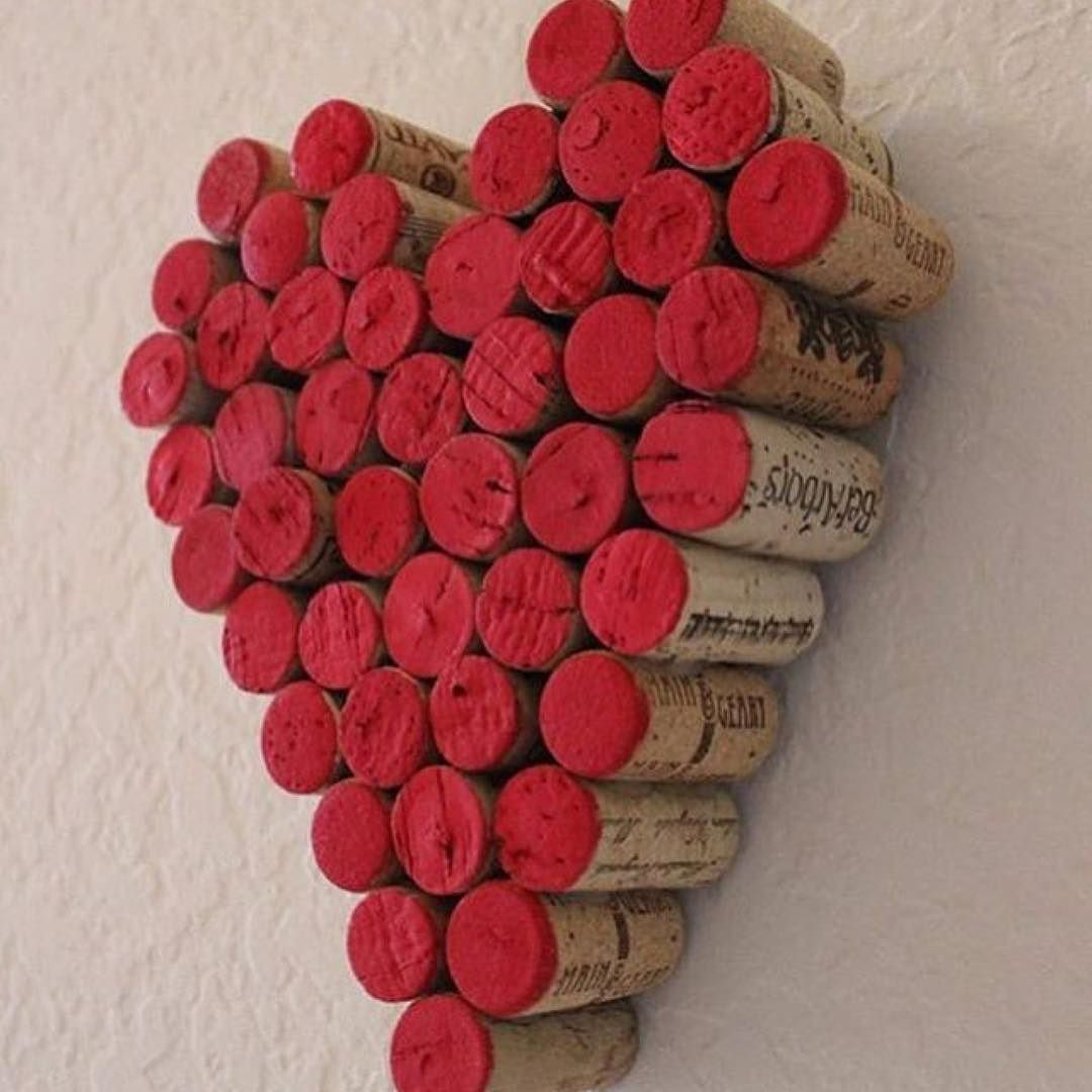 Sending Everyone Love And Good Vibes For The Weekend Ahead These Corks And Are From Bytheseacollection An Australi Wine Cork Crafts Cork Crafts Wine Cork Art