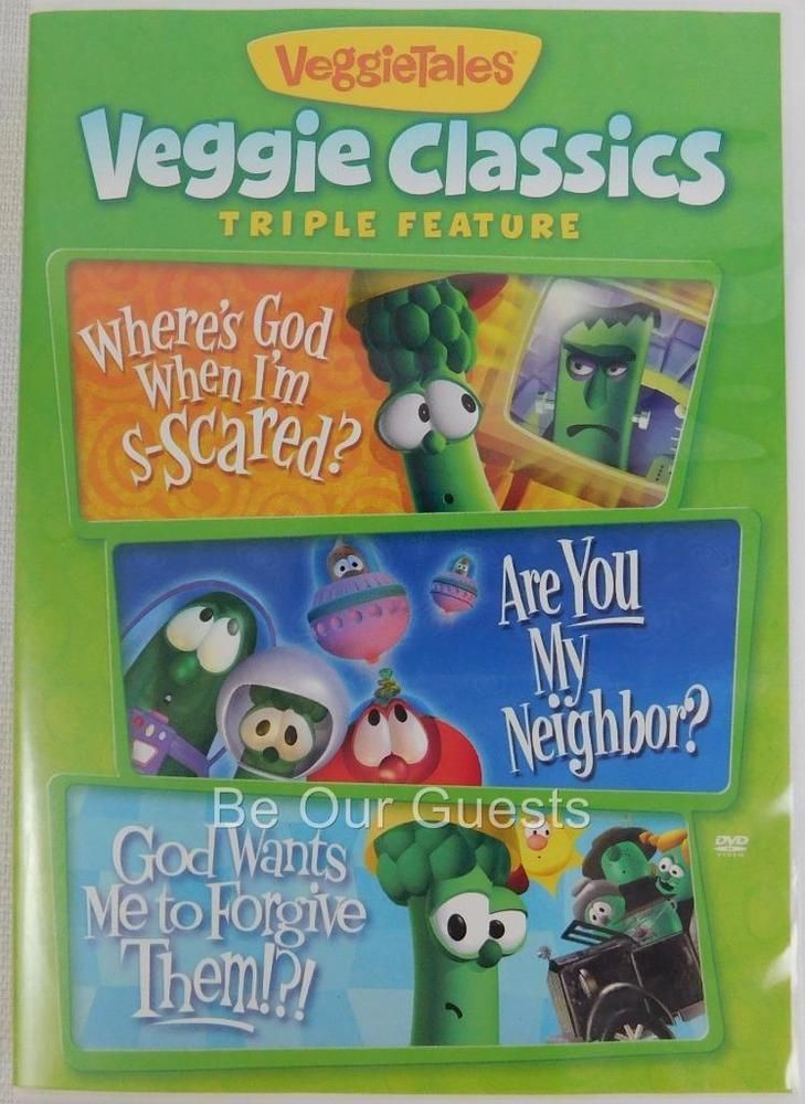 VeggieTales Classics Triple Feature Where\'s God Are You My Neighbor ...