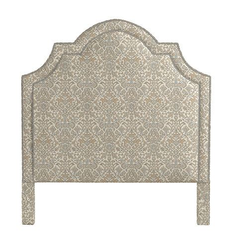 Katherine Headboard with Pewter Nailheads