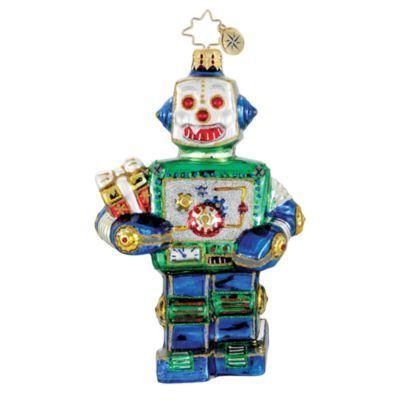 Image detail for -christopher radko yule bot ornament $ 45 christopher radko up