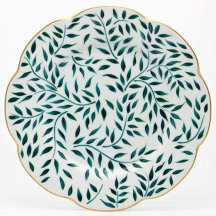 Green olive leaves and mat gold filets add a Mediterranean elegance to the Olivier Dinnerware collection  sc 1 st  Pinterest & Green olive leaves and mat gold filets add a Mediterranean elegance ...