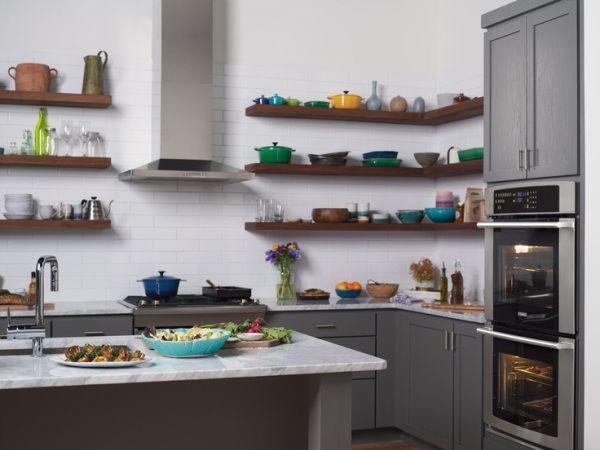 Electrolux-Suite-Design-Kitchen-grey-cabinets-open-shelving