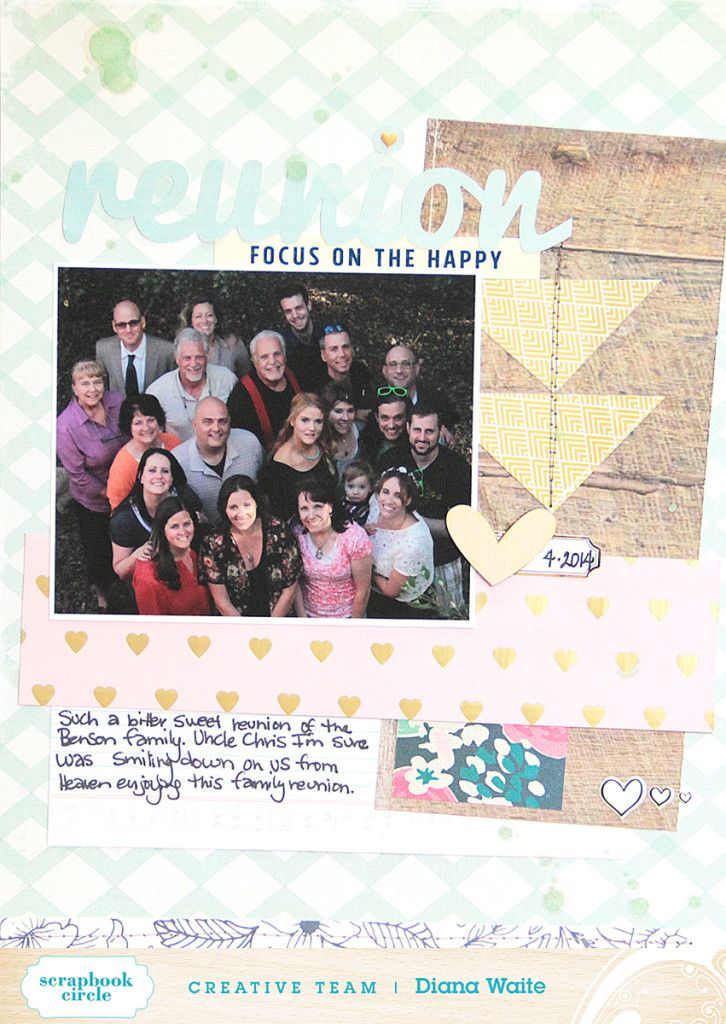 Scrapbook Circle » Ideas » Dianas You Are My Favorite Ideas
