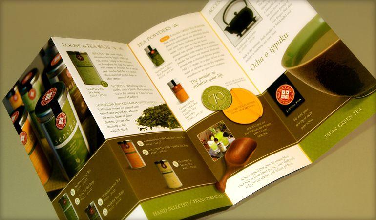 tea brochure | Farm Graphic Design | Pinterest | Brochures and ...