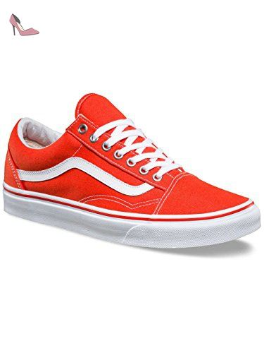 vans old skool homme orange