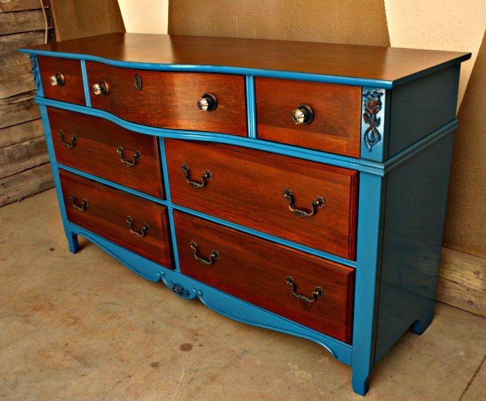 Nook And Cranny Co Furniture Repair Furniture Restoration Furniture Refinishing Spartanburg Greenville Sc Blue Painted Furniture Nc Furniture Painted Dresser