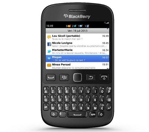 BLACKBERRY 9720 AZERTY - zwart - Smartphone   MicroSDHC-geheugenkaart - 16 GB - Class 10 | €104.87
