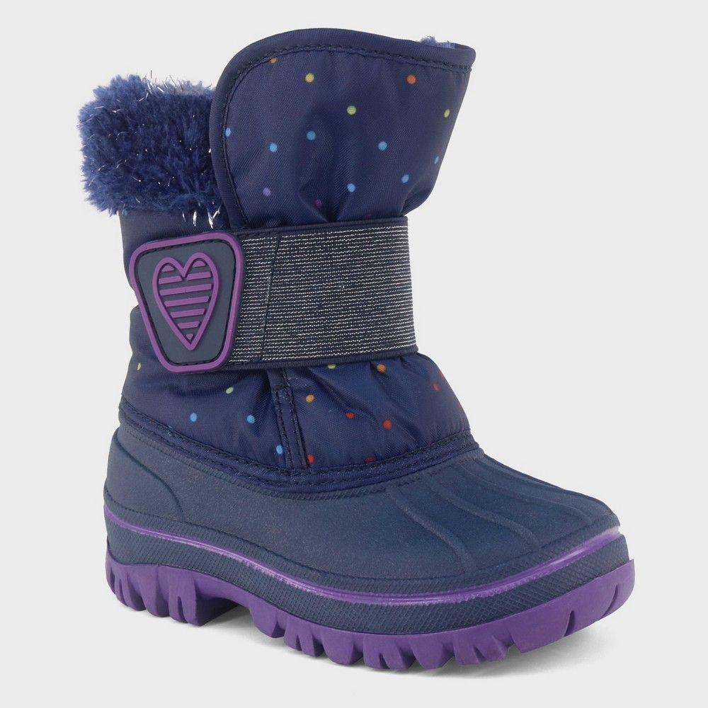 New Cat /& Jack Jace Neoprene Winter Boots Black Toddler Boys Size 7 10 11