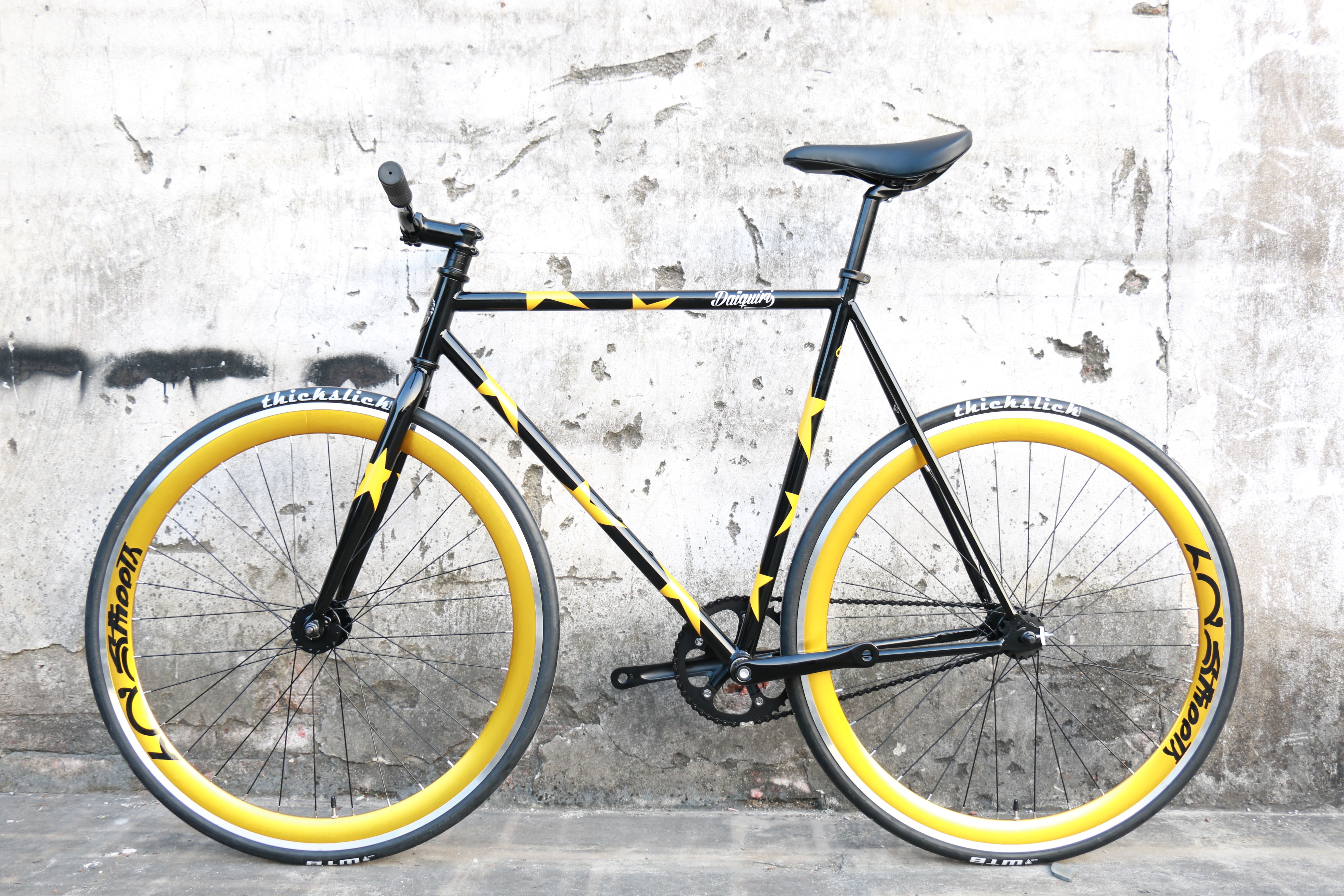 5720b793e17 Daiquiri GOLD STAR Limited Edition Fixed Gear Bike Fixie Single Speed  Bicycle M