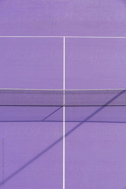 Purple Tennis Court By Luis Cerdeira Stocksy United Tennis Wallpaper Tennis Tennis Court