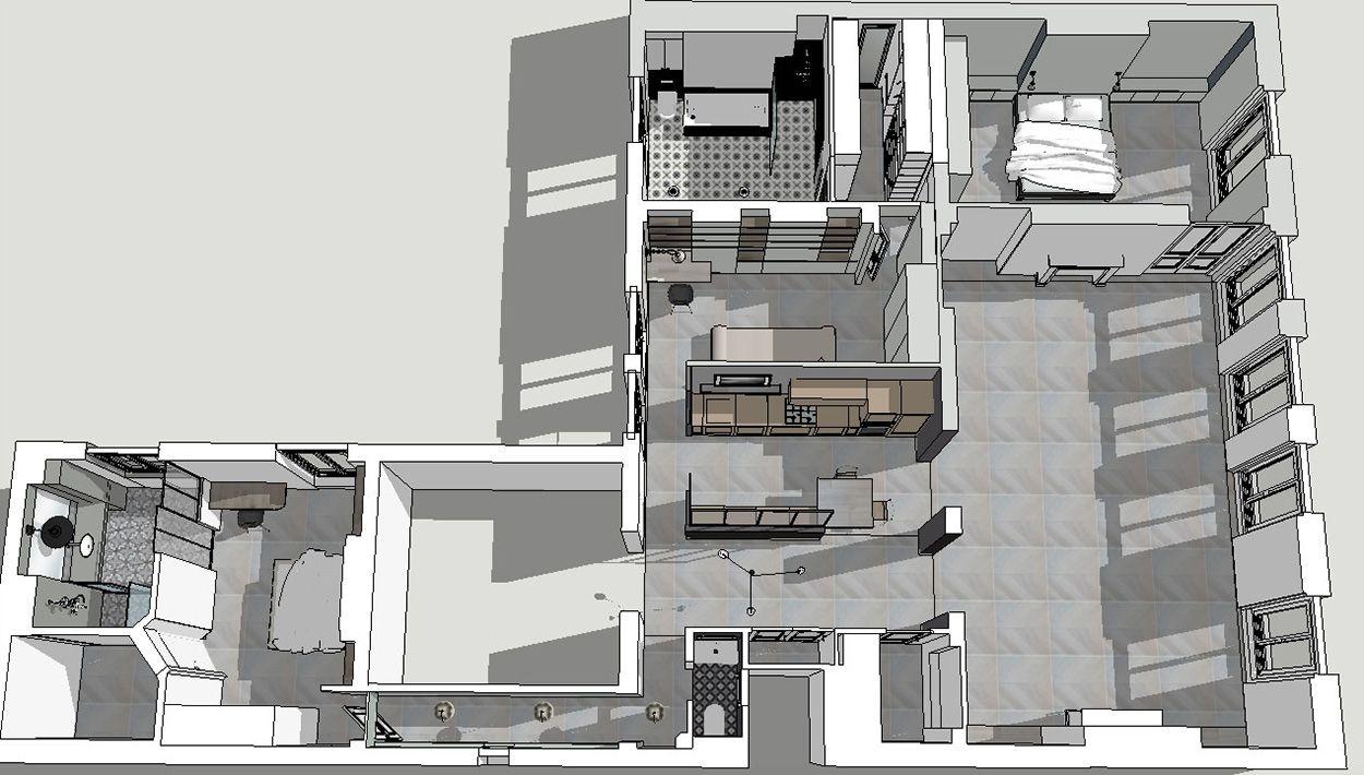100 Fantastique Idées Plan Type Appartement Haussmannien