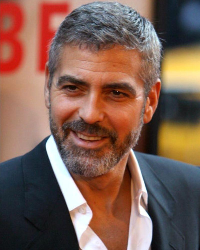 Het Haar Van George Clooney Kapsels 2016 Dames Mens Hairstyles Short George Clooney Hair Hair And Beard Styles