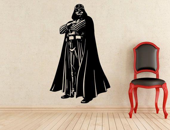 Darth Vader adesivi parete vinile adesivi casa affreschi degli interni arte decorazione (212z)