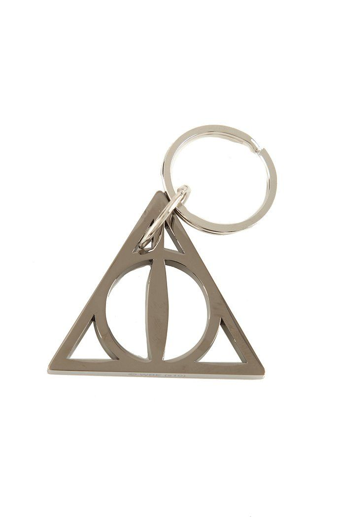 Harry Potter And The Deathly Hallows Hematite Key Chain