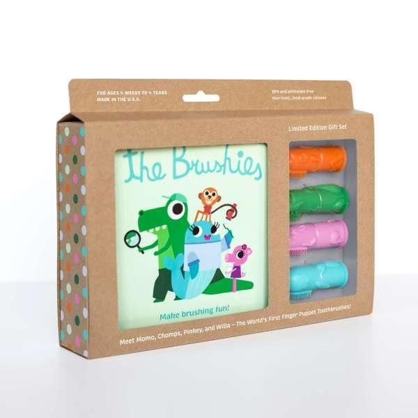 Green The Brushies Baby and Toddler Toothbrush