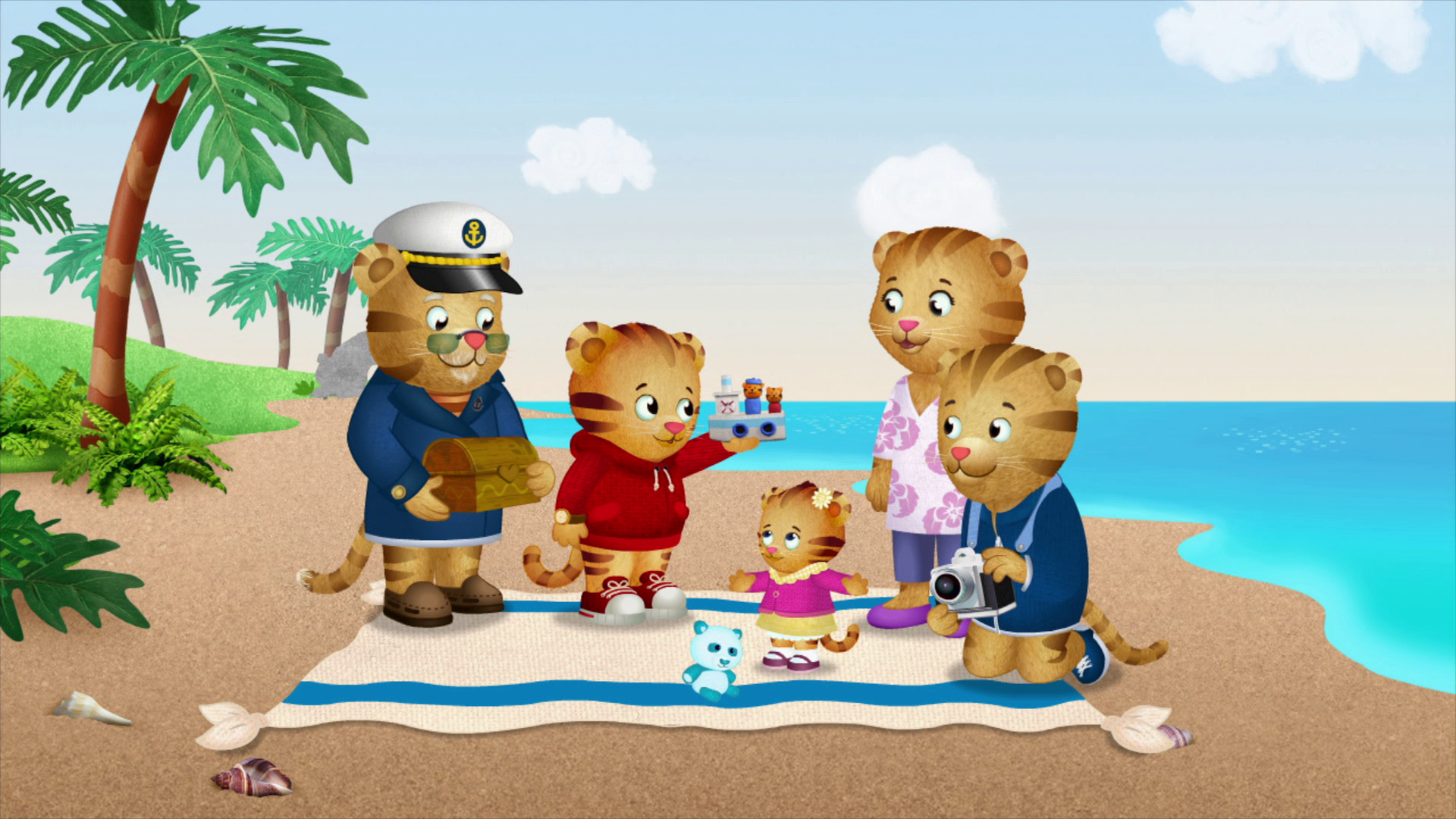 In The New Hour Long Daniel Tiger S Neighborhood Special Tiger Family Trip The Tiger Family Is Vis Daniel Tiger S Neighborhood Daniel Tiger The Neighbourhood
