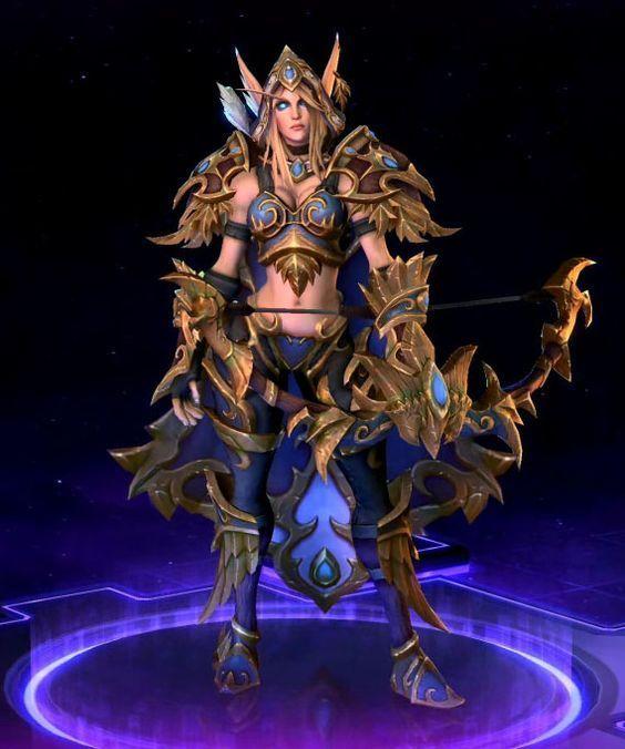 Blood elf so chan sylvanas windrunner undead world of warcraft