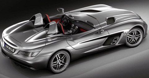 2009 Mercedes Benz Mclaren Slr Sterling Moss Cost Top Speed