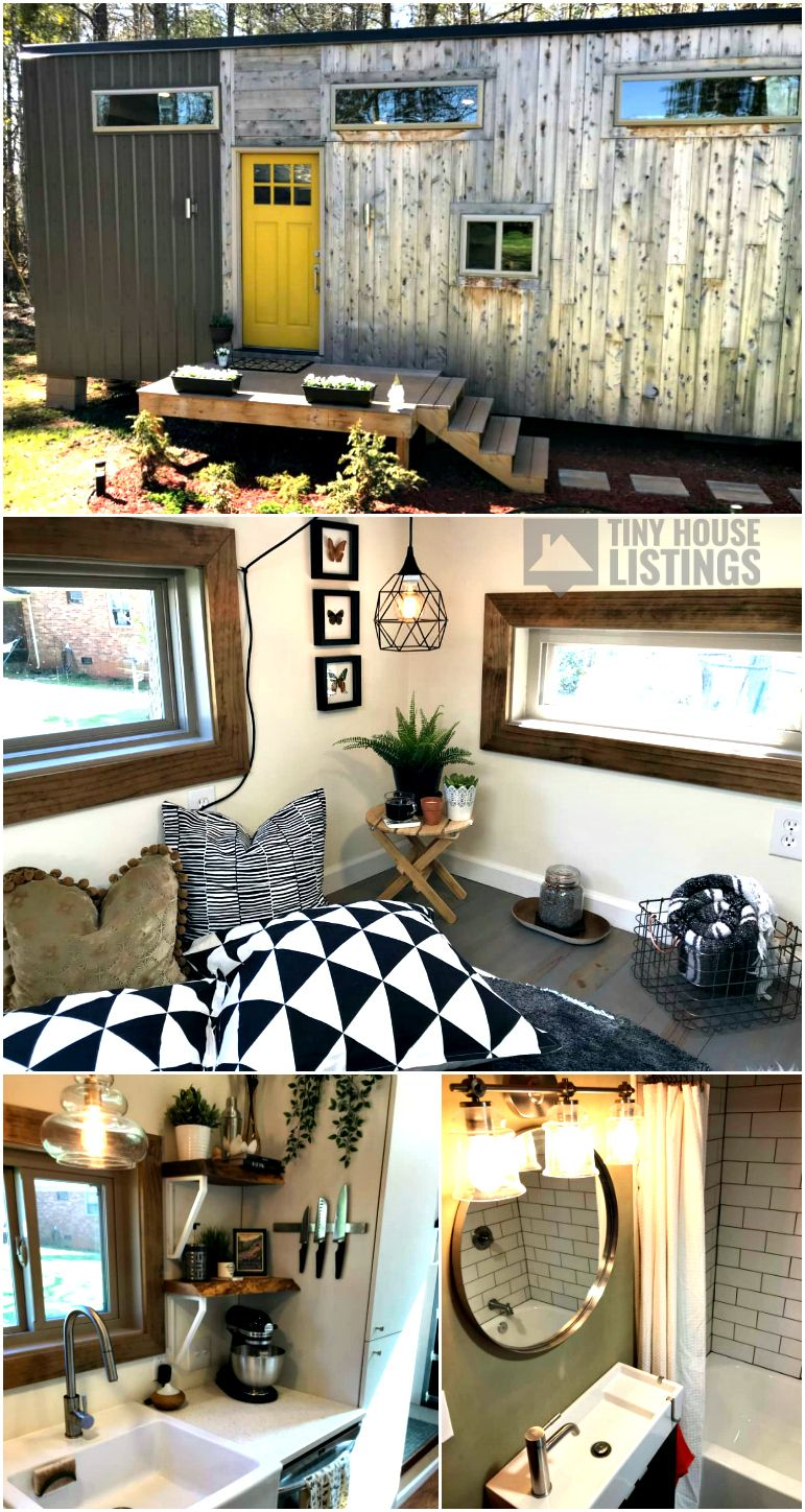 U Modern Tiny House On Wheels PRICE REDUCED Tiny House for Sale