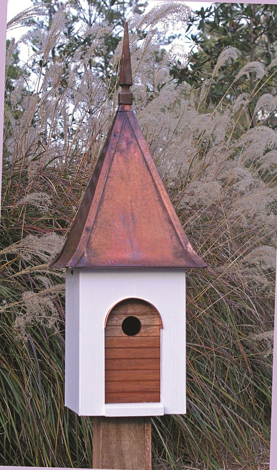 French Villa 27 In X 9 5 In X 9 5 In Birdhouse Unique Bird Houses Bird House Decorative Bird Houses