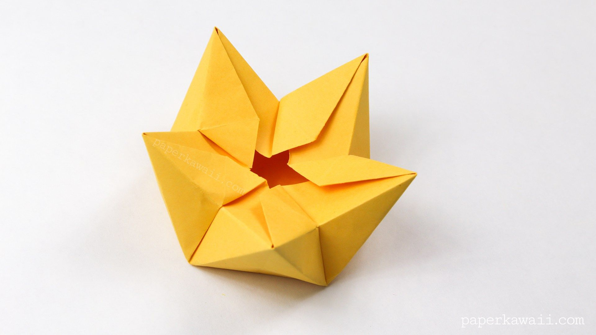 Origami star flower crown bowl tutorial origami stars origami origami star flower crown bowl tutorial paper kawaii mightylinksfo