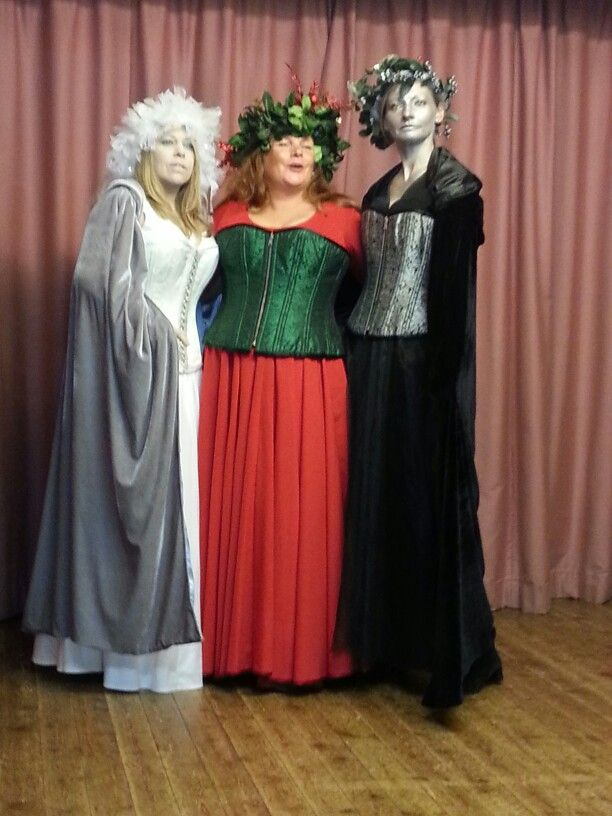 Ghost Of Christmas Present Costume.Headdresses For Scrooge 2013 Ghosts Of Christmas Past