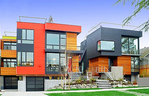 Contemporary Homes in Seattle | These homes have been designed to merge modern  architecture and .