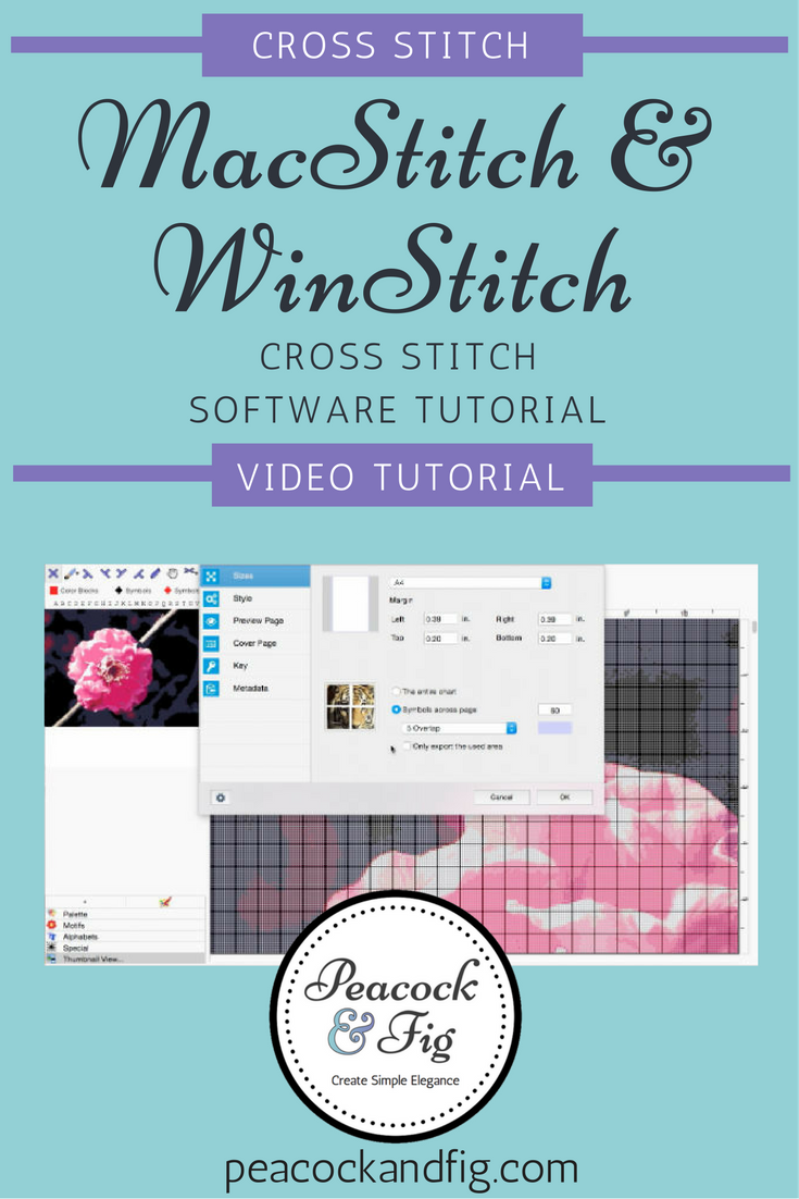Macstitch Cross Stitch Software Tutorial Cross Stitch Software
