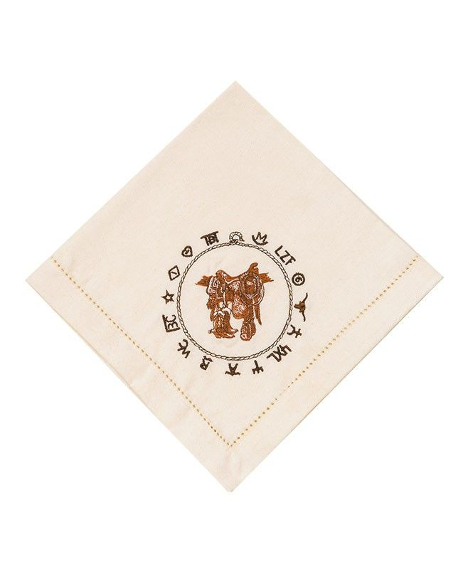 Boots and Saddle Western Napkins (Set of 4) Housewares rustic western Native American design Navajo Indian Aztec decor drysdales.com outdoors the american west colorado wyoming montana lodge cabin country home #countryhome #countryliving #rustichome #logcabindecor