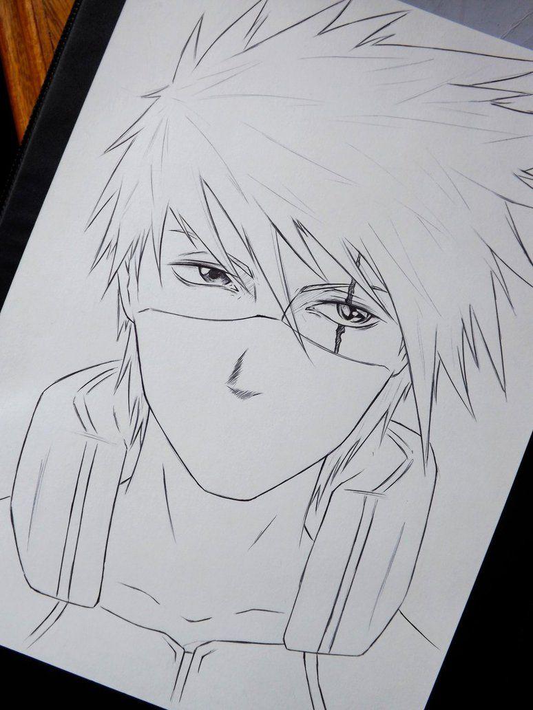 Diego Yoji Joji Kakashi Desenho Arte Naruto Esboco De Anime