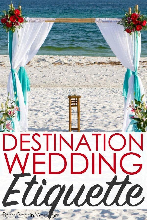 Destination Wedding Etiquette Pinterest Etiquette Destination