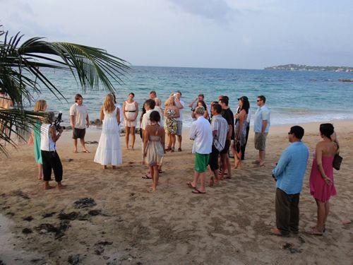 Beach Wedding Dress Code Cocktail