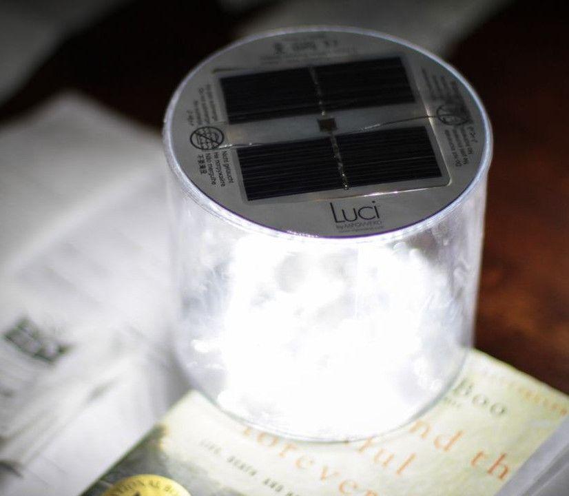 Luci - Aufblasbare Solarleuchte - Licht spendet Licht!