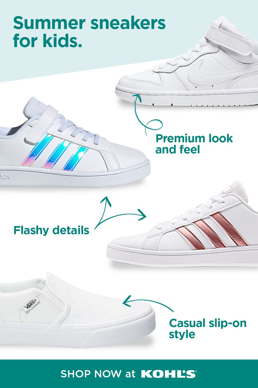 Sneakers, Kids athletic shoes