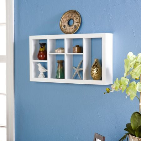 I pinned this a wall shelf from the small spaces big style event at joss