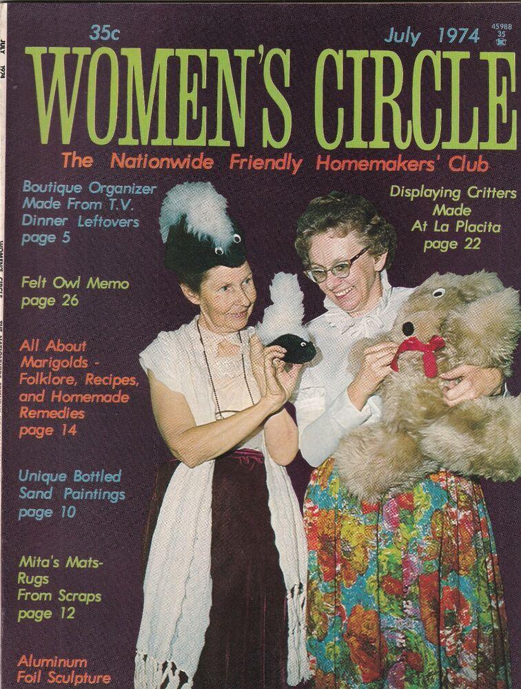 Women's Circle Mag Critters Made At La Placita July 1974 092719nonr
