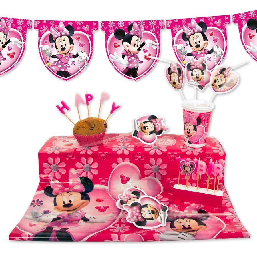 minnie mickey kit d co malin minnie anniversaire enfant scrapmalin anniversaire emma. Black Bedroom Furniture Sets. Home Design Ideas