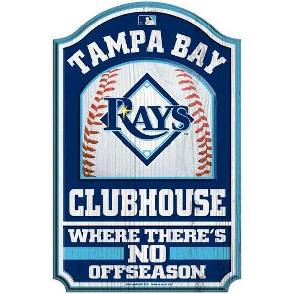 WinCraft MLB Tampa Bay Rays Street Sign