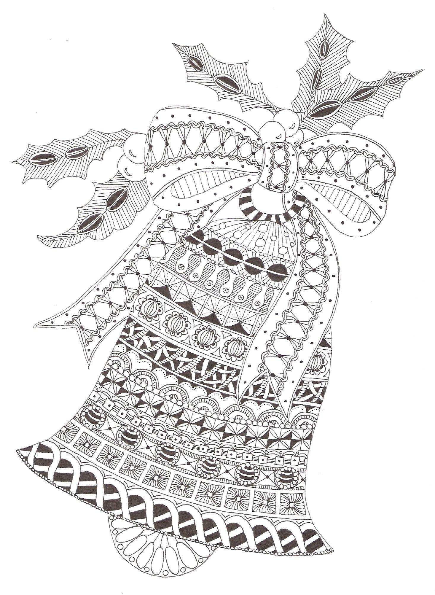 Zentangle made by mariska den boer embroidery