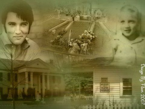 Elvis Presley - The Boy Who Became King. January 8, 1935 - August 16, 1977  Tupelo - Memphis