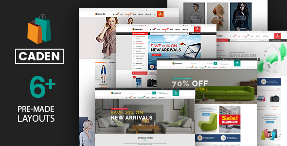 Download Caden V10 Mega Store Responsive Wordpress Theme Free