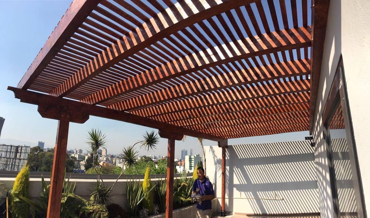 Pergolas de madera p rgolas de aluminio p rgolas con cristal p rgolas y quinchos techados Pergolas de cristal