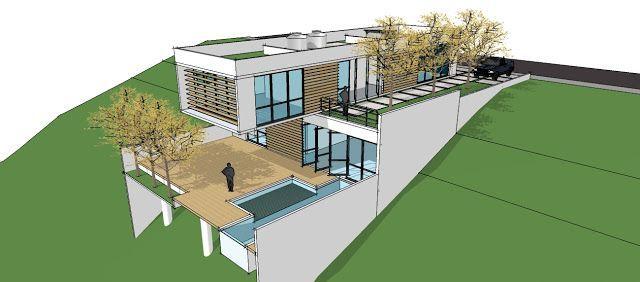 Casas en terrenos desnivelados buscar con google casas - Terreno con casa ...
